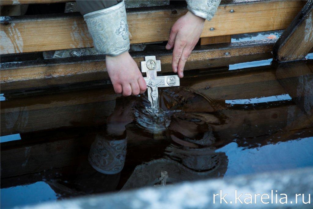Крещенские купания в Петрозаводске