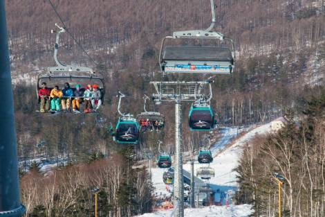 12 тысяч человек вышли на лыжные трассы