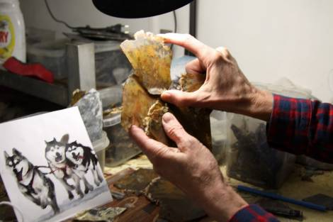 Панно из камчатских самоцветов вручат каюру