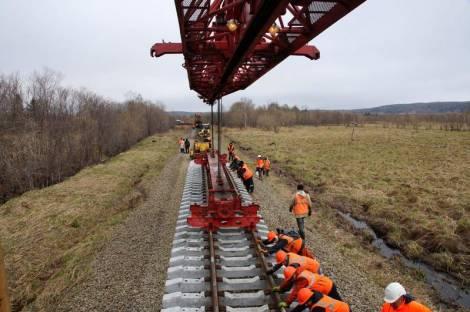 На реконструкцию железнодорожной магистрали Сахалина направят 973 млн рублей