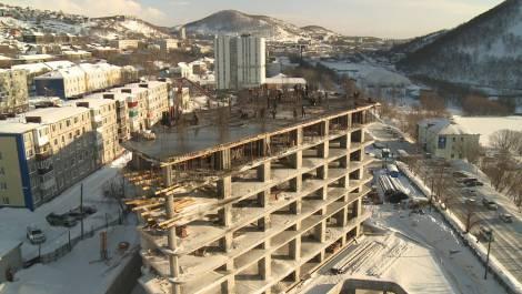 На Камчатке завершается первый этап строительства крупнейшего гостиничного комплекса
