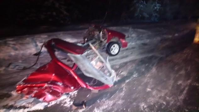 Появились фото трагического ДТП на юге Карелии