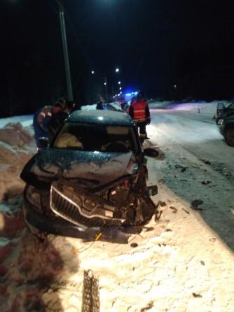 Четыре человека пострадали в ДТП на севере Карелии