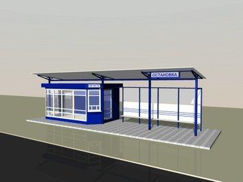 14 новых остановочных павильонов из каленого стекла появятся во Владивостоке