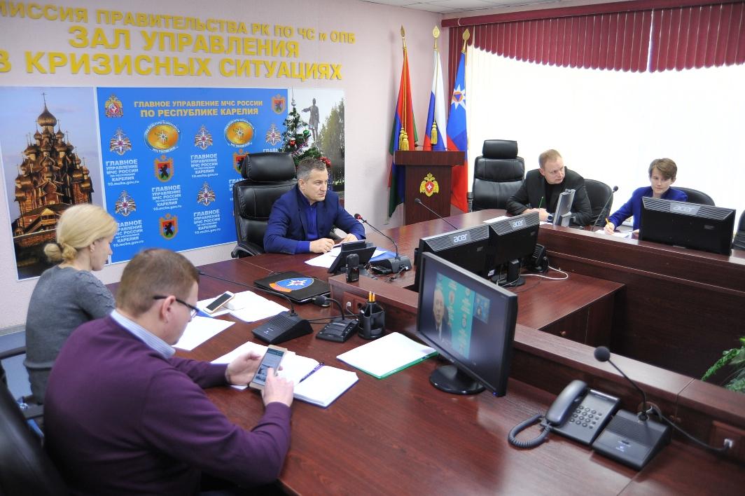 Главы районов Карелии рассказали о результатах уборки дорог во время праздников