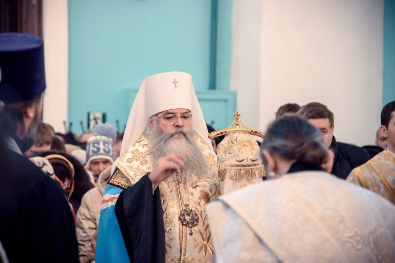 Рождественская ночь в Петрозаводске. Фото: Николай Смирнов
