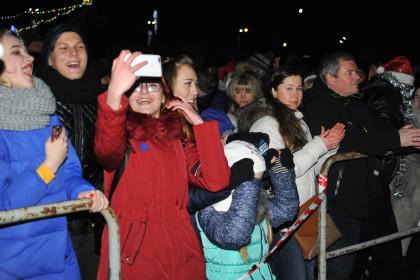 Столица Карелии встретила Новый год