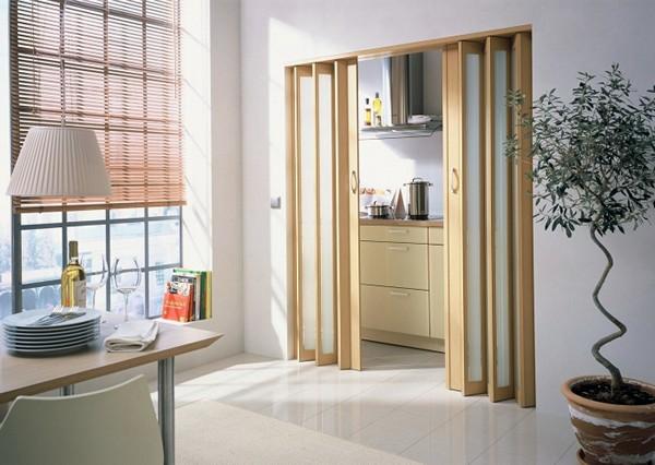 Двери гармошка для вашего дома