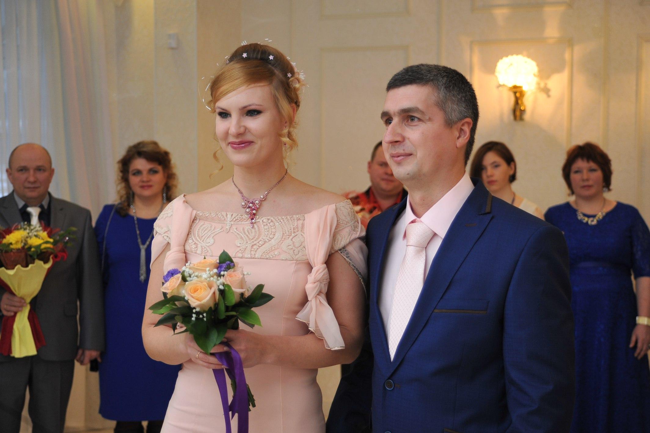 Первая свадьба года