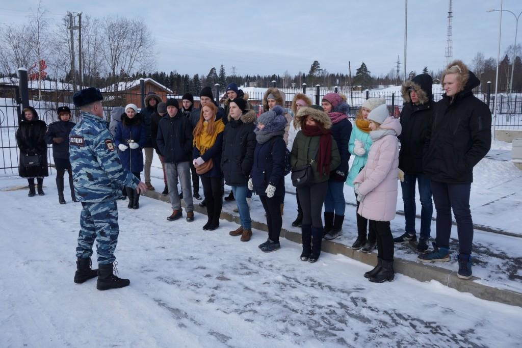 Экскурсия в кинологический центр МВД РК.