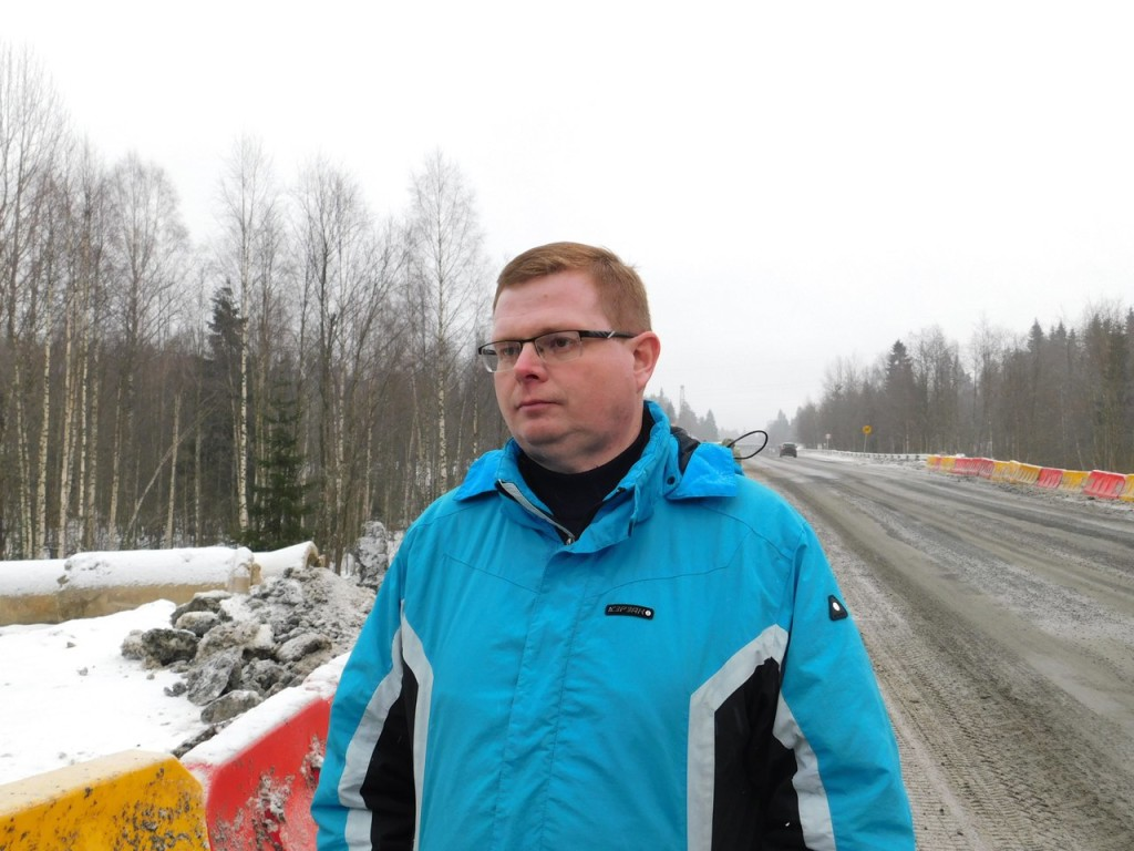 Подрядчик устранил замечания по дороге в Вяртсиля за три дня