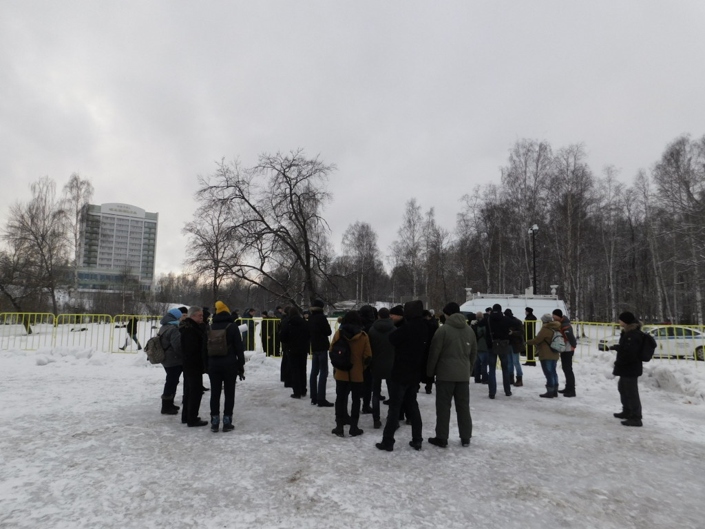 Акция в поддержку Юрия Дмитриева прошла в Петрозаводске