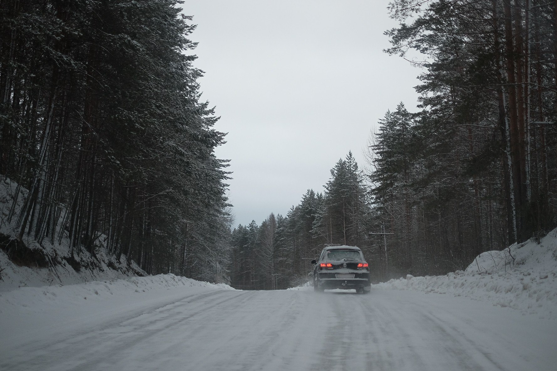 Снег и асфальт