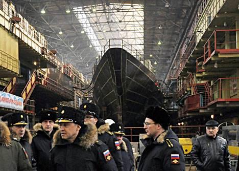 На Амурском судостроительном заводе к концу года завершат строительство корвета