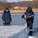 В Приморье создают новую технологию строительства ледовых островов