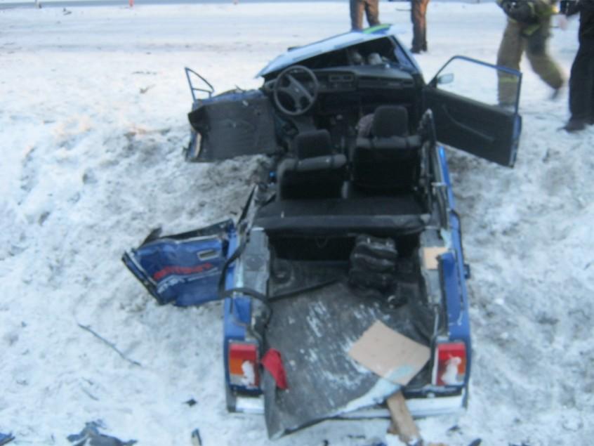 Один человек пострадал в утреннем ДТП под Петрозаводском