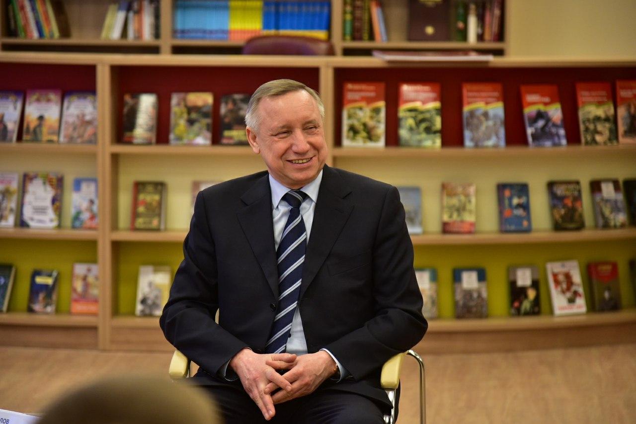 Александр Беглов рассказал кадетам президентского училища о характере Владимира Путина