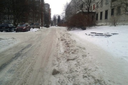 Всеми забытый снег