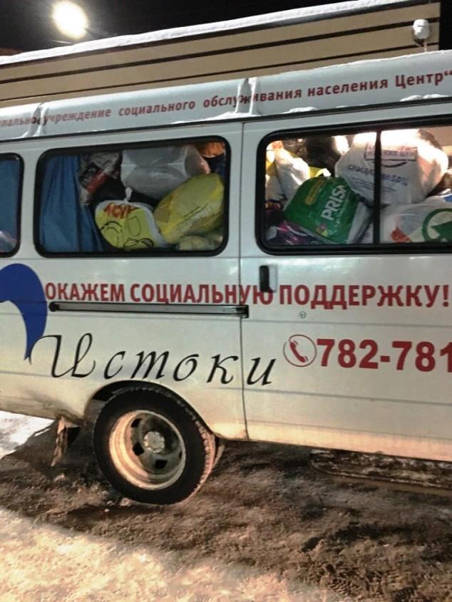 Более двух тонн вещей собрали жители Петрозаводска для малоимущих