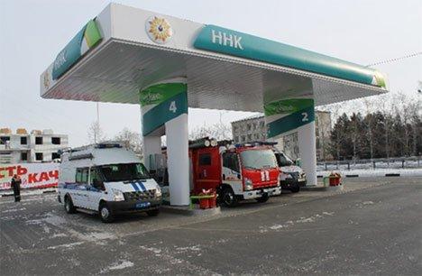 В Благовещенске состоялось торжественное открытие автозаправочной станции Группы ННК