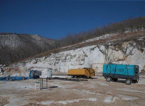 Резидент  расширит производство по добыче и обработке мрамора в Приморье