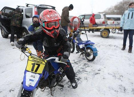 Во Владивостоке пройдут ледовые мотогонки