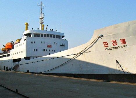 Застрявшее во Владивостоке судно из КНДР возвращается на родину