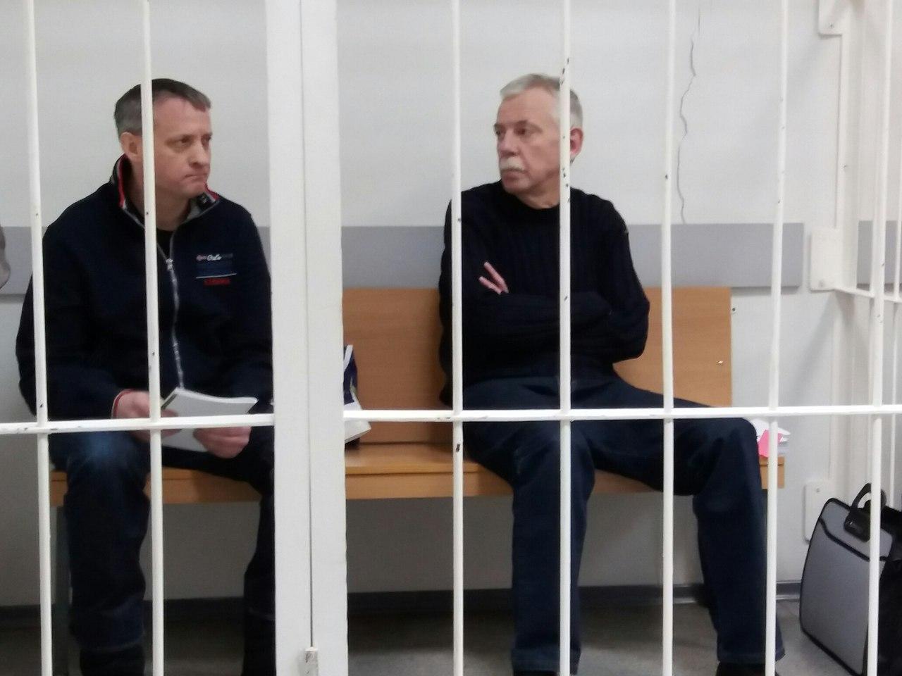Нелидов и Романов выступят с последним словом в суде Петрозаводска