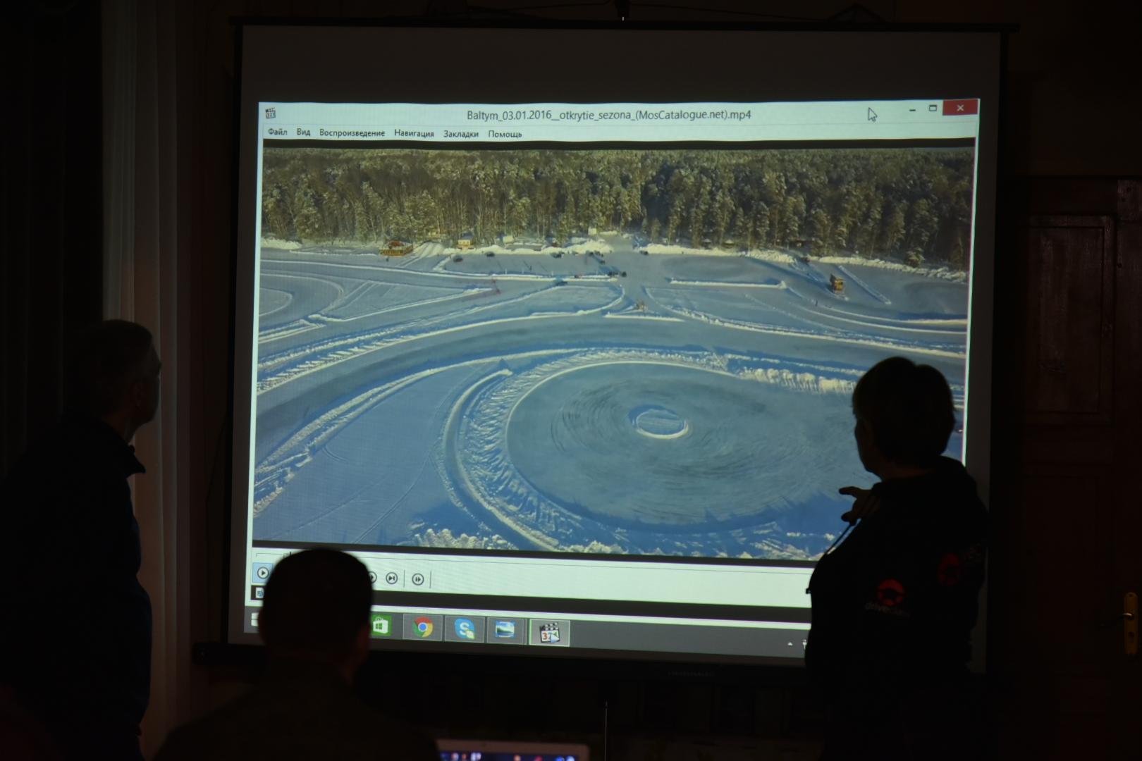25 часов будут ездить автомобилисты по льду озера в Приладожье