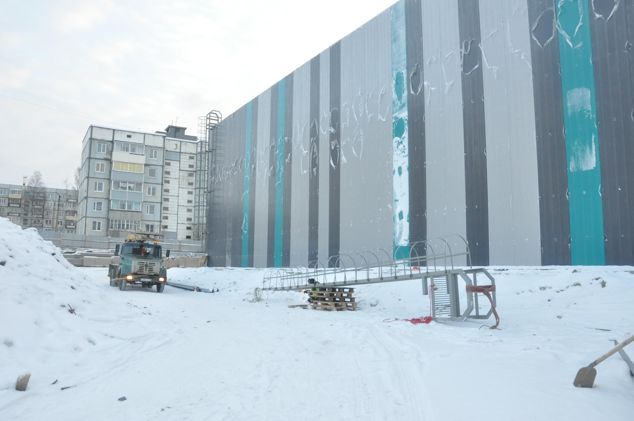 Стены центра спортивной гимнастики возведут к концу февраля