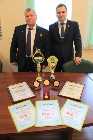 Николай Федоренко привез награды с выставки «Продэкспо-2018»