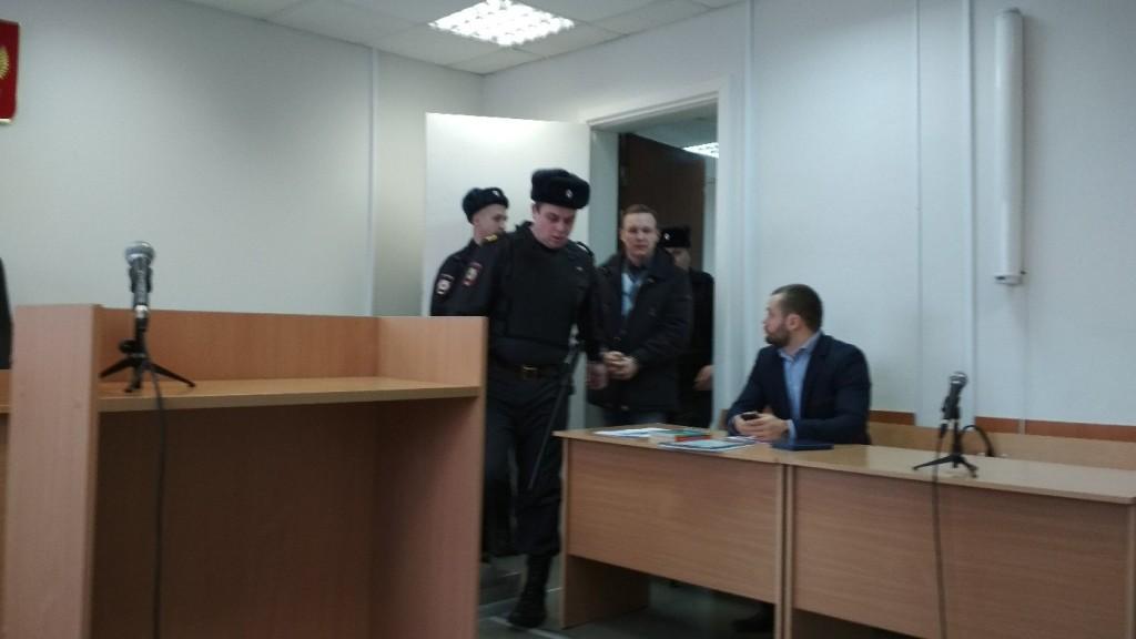 Петрозаводский суд рассматривает ходатайство об аресте Сергея Никольского
