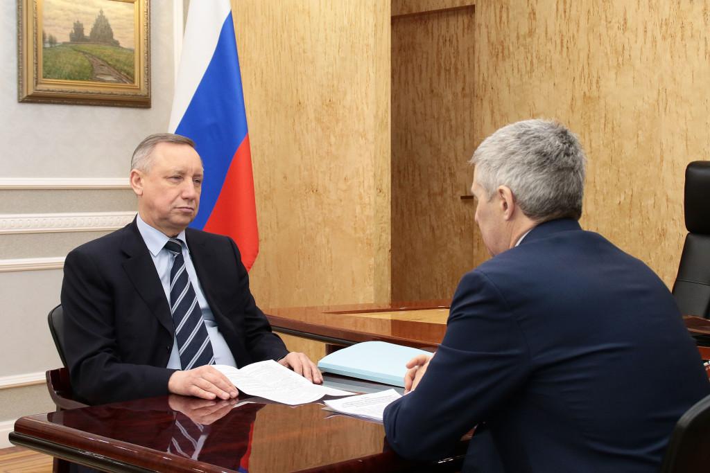 Артур Парфенчиков доложил Александру Беглову об исполнении «майских» указов президента