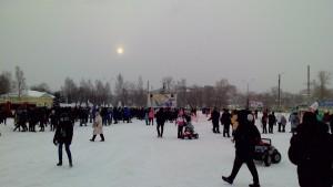Митинг-концерт в поддержку российских олимпийцев начался в Петрозаводске