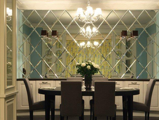 Конструкции из прочного декоративного стекла и зеркал