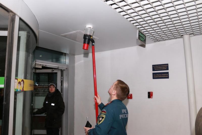 МЧС Карелии: противопожарные системы ТРЦ «Макси» сработали без сбоев