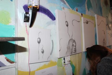 Квартирная выставка объединила художников