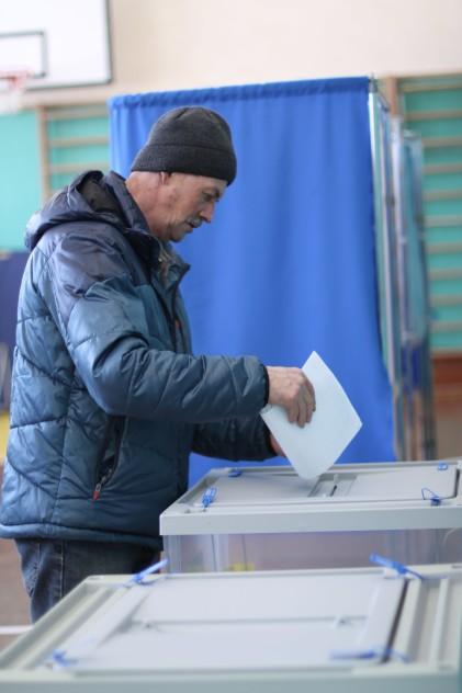 Жители национального вепсского поселения в Карелии проголосовали на выборах президента РФ