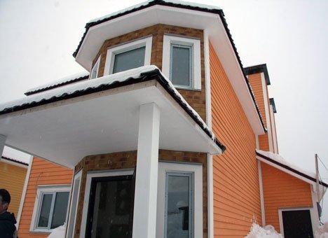 В Приморье строят малоэтажный поселок