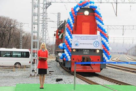 Приморье получило новую железнодорожную инфраструктуру