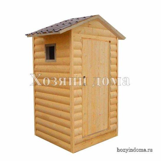 Строение деревянных туалетов быстро и надёжно