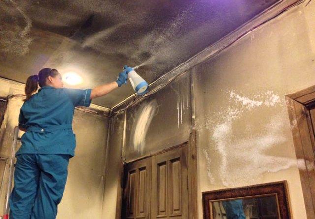 Услуги клининговой компании после потопов и пожаров