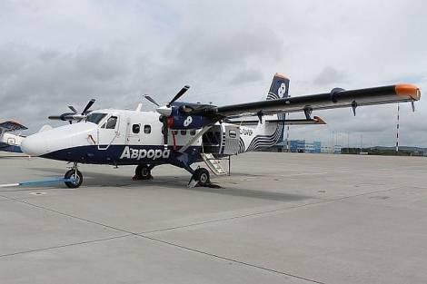 Пять новых самолетов обеспечат регулярное авиасообщение с курильскими островами