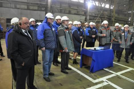 В Хабаровском крае на Амурском судостроительном заводе идет процесс трансформации производства