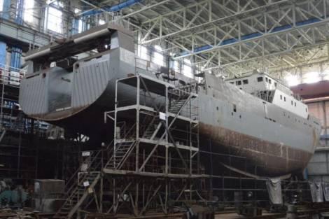 На Хабаровском судостроительном заводе построят два морских буксира