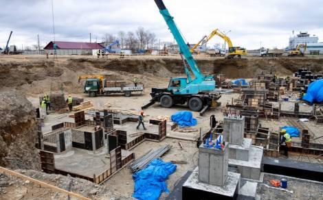 Строительство нового аэровокзального комплекса в Южно-Сахалинске будут вести в две смены