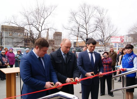 Первое в Приморье почтовое отделение нового формата обслуживания открылось в Находке