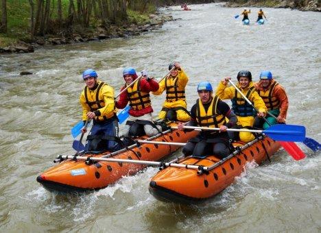 Реки Приморья зовут на рафтинг