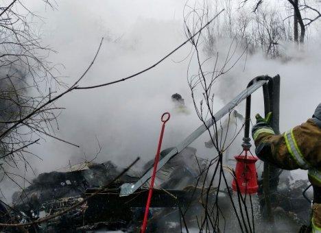 Следственный комитет возбудил уголовное делу по факту крушения вертолета в Хабаровске