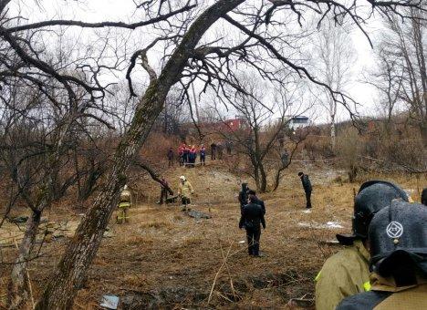 На борту разбившегося вертолета, выполнявшего учебный полет, были пилоты и проверяющие авиакомпании